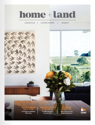 home and land package magazine cover