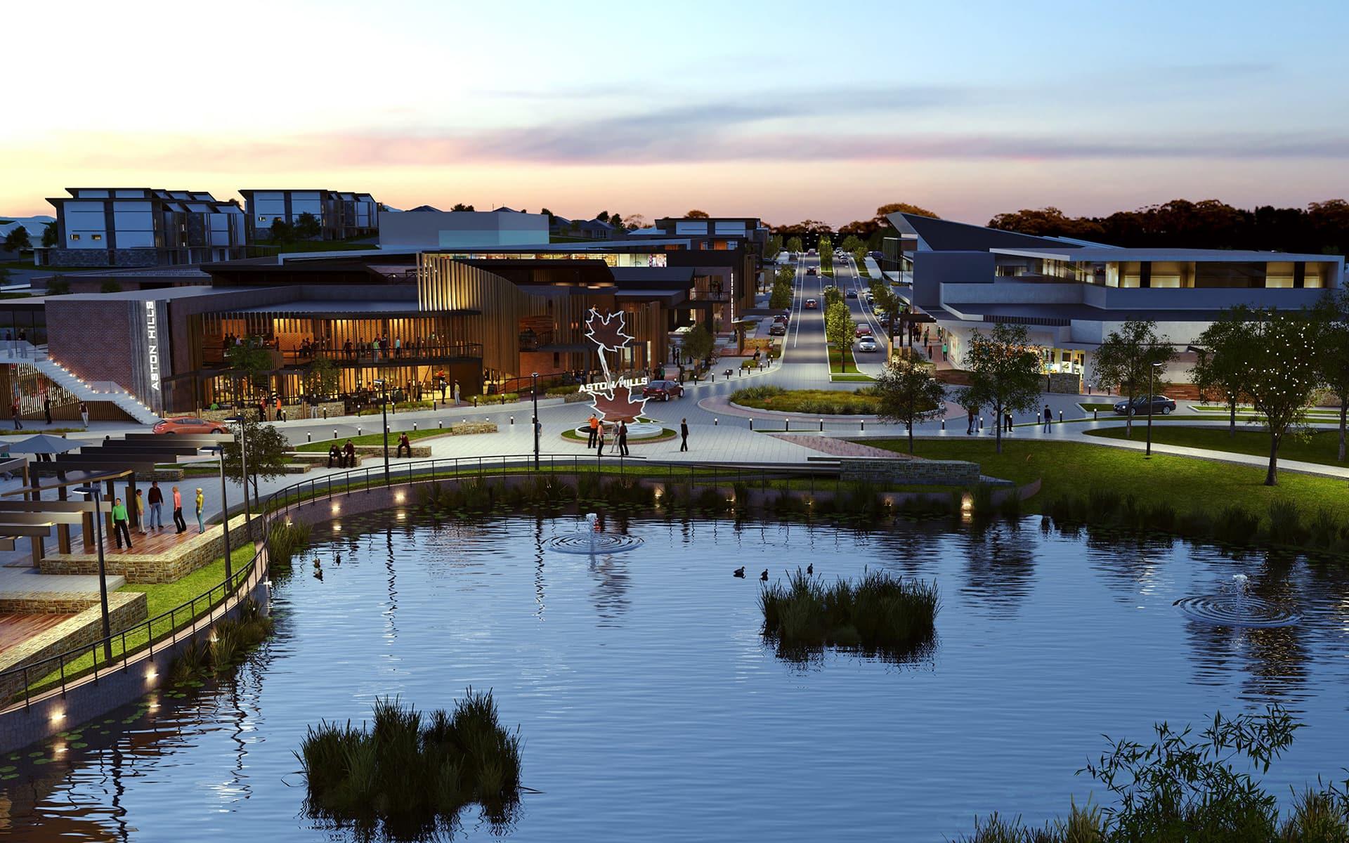 Our Village Centre Vision Unfolds At Aston Hills